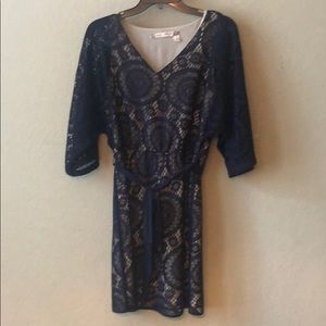Chelsea and Violet navy blue dress